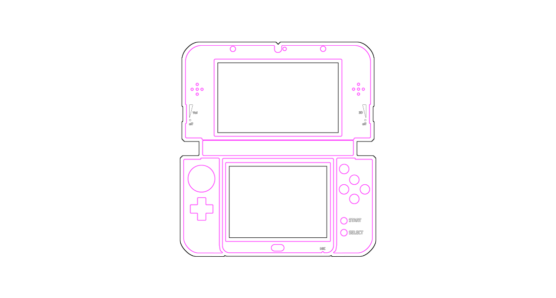 make your own nintendo new 3ds xl skin istyles